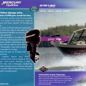 2006 Mercury Outboard Brochure Page 18