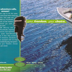 2006 Mercury Outboard Brochure Page 24