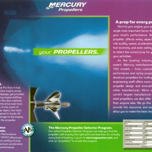 2006 Mercury Outboard Brochure Page 31