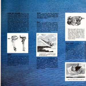 1967 Mercury Outboard Brochure Page 2