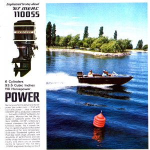 1967 Mercury Outboard Brochure Page 4