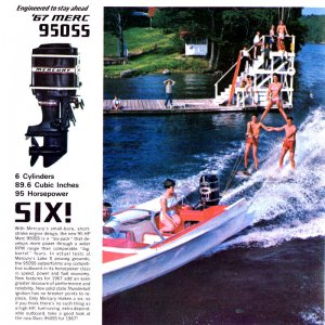 1967 Mercury Outboard Brochure Page 5