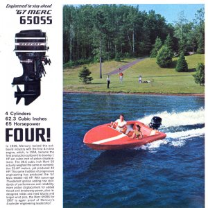1967 Mercury Outboard Brochure Page 6