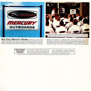 1967 Mercury Outboard Brochure Page 15