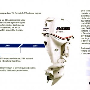 100th Anniversary Evinrude Brochure Page 14