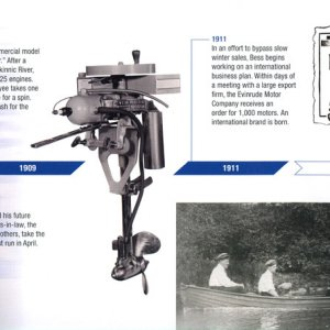 100th Anniversary Evinrude Brochure Page 3