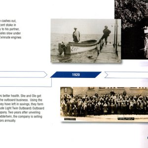 100th Anniversary Evinrude Brochure Page 4