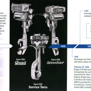 100th Anniversary Evinrude Brochure Page 5