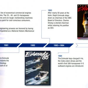 100th Anniversary Evinrude Brochure Page 11