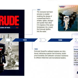 100th Anniversary Evinrude Brochure Page 12