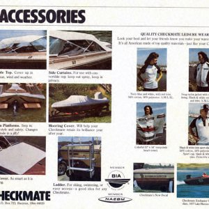 1979 Checkmate Brochure Page 20