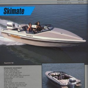 1987 Checkmate Brochure Page 10