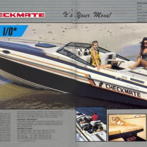 1987 Checkmate Brochure Page 26 & 27