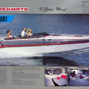 1987 Checkmate Brochure Page 30 & 31