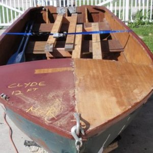12' Clyde row boat